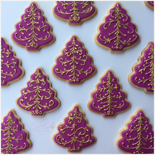 How To Decorate Christmas Tree Cookies