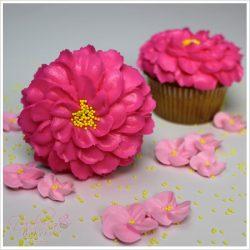Cupcake pink cherry blossom