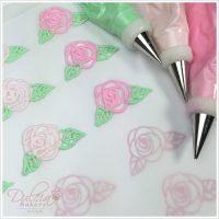Cómo Transferir Rosas De Glasé Real