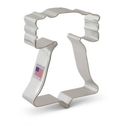 Liberty Bell Cookie Cutter by Ann Clark