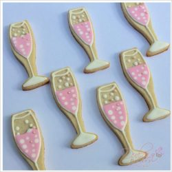 Rosé Champagne Cookies