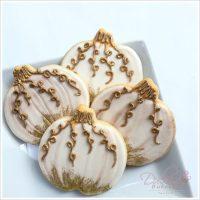 Elegant Pumpkin Cookies
