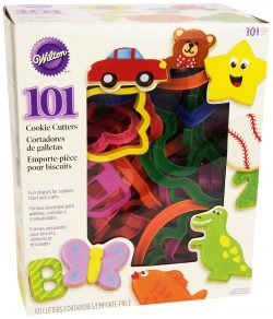 101 Wilton Cookie Cutters