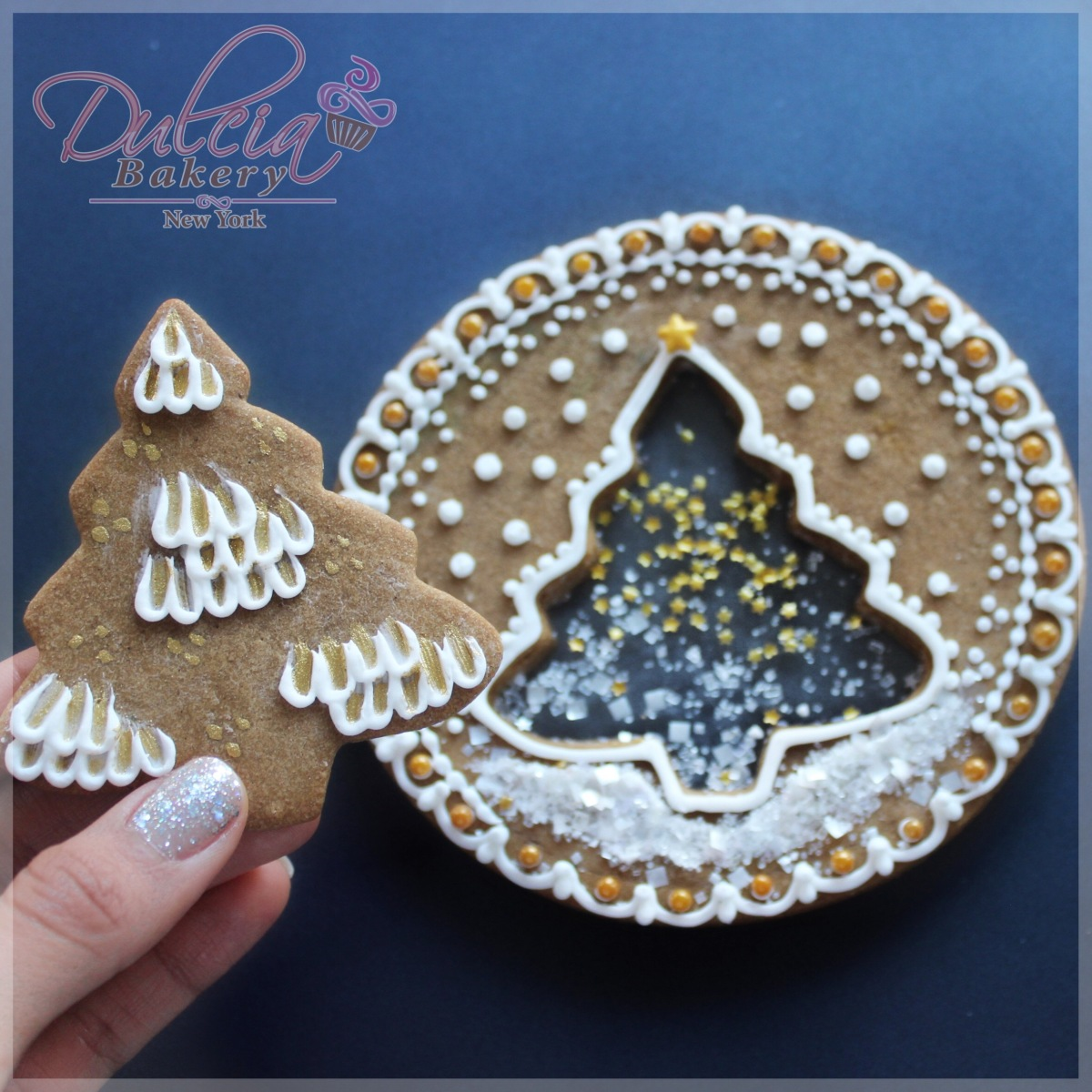 Isomalt Gingerbread Christmas Cookies