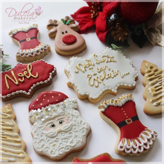 Christmas Cookies Dulcia Bakery