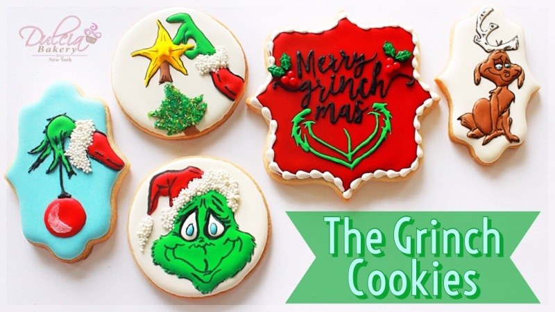 How To Decorate Grinch Cookies Dulcia Bakery