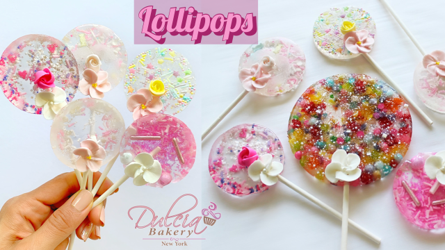 Isomalt Lollies